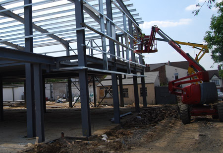 Structural steel london and essex for Structural steel home designs